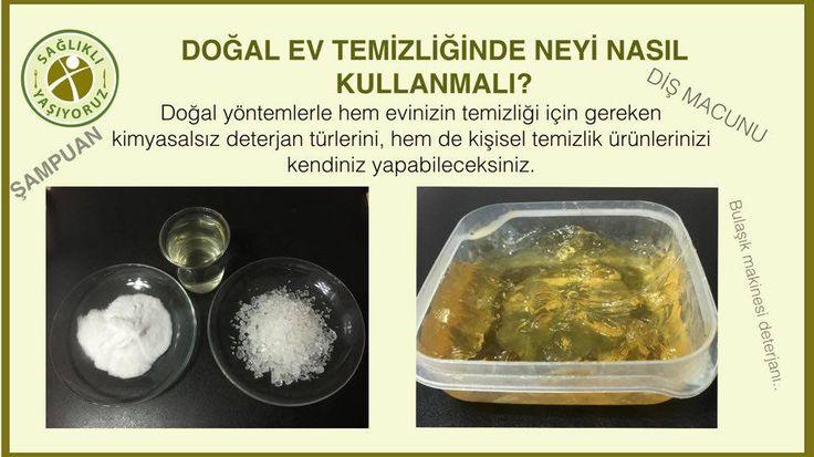 Ev ve kişisel temizliğinizde hiç bir kimyasal maddenin kullanılmadığı tamamen doğal yöntemler.