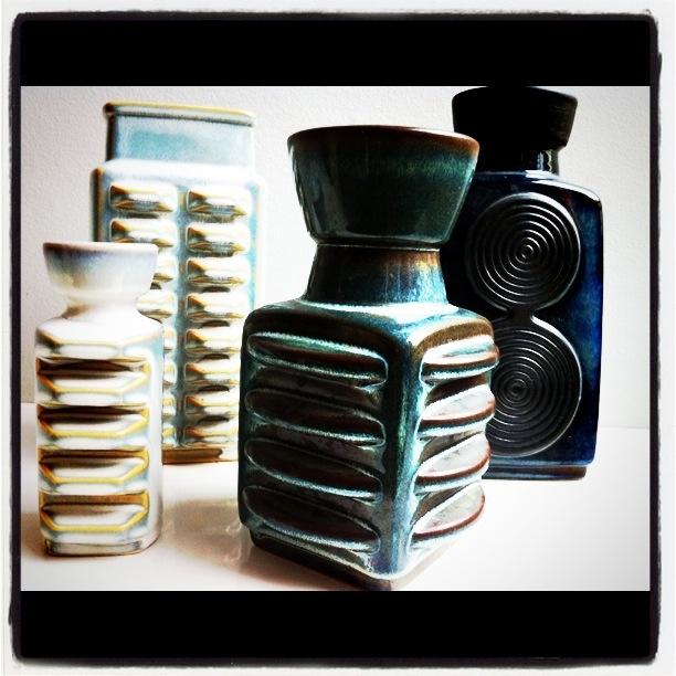 70'ties vases
