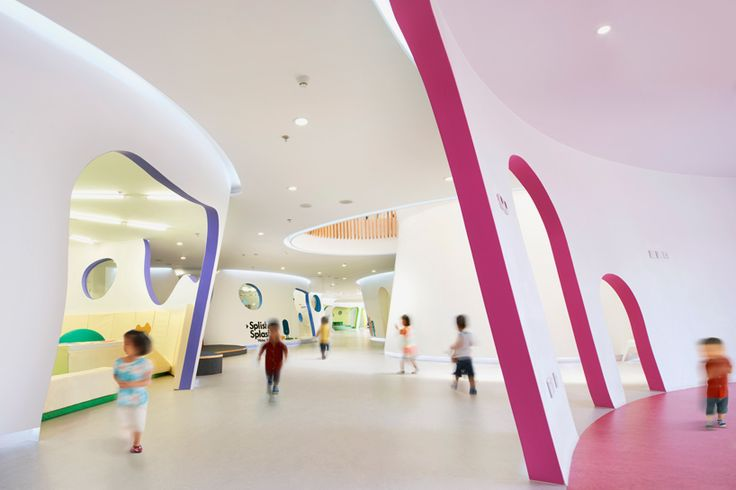 SAKO architects shapes playful educational center in beijing - designboom   architecture