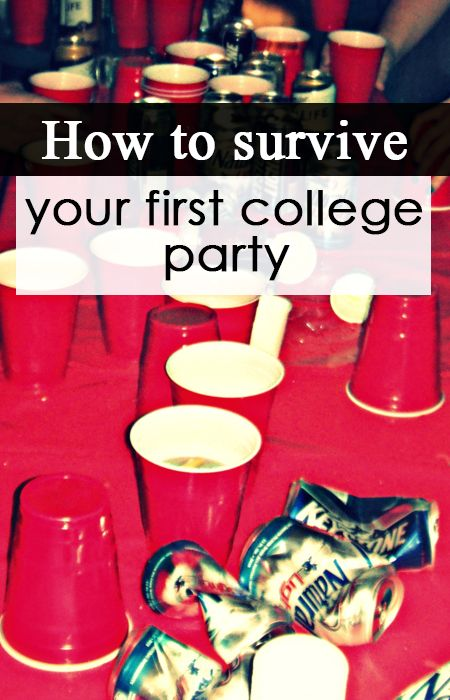 10 Tips to Survive Your First College Party