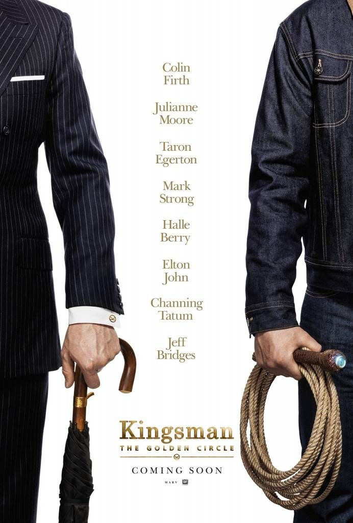 International Red Band Trailer For 'Kingsman 2: The Golden Circle' Movie Starring Halle Berry