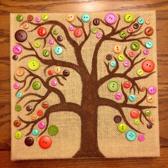 Mejores 19 im genes de botones en pinterest artesan as - Manualidades muy faciles ...