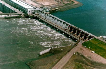 YACYRETA-CORRIENTES ARGENTINA a very big Hydro power plant