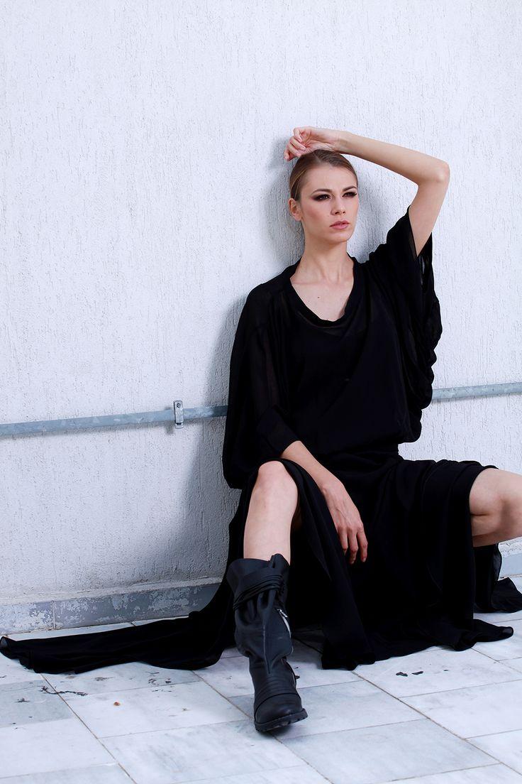 Lavish Black Dress