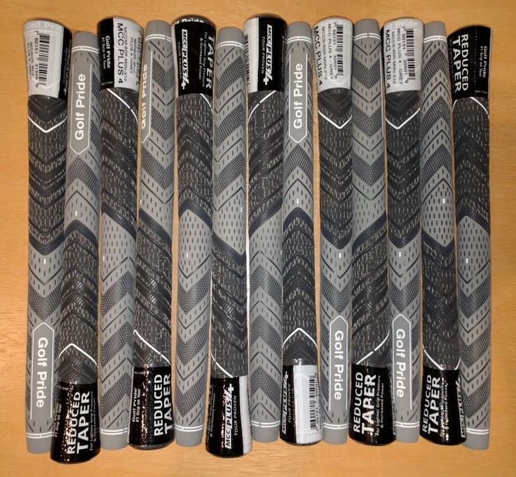 Golf Club Grips 47324: 13 - Brand New, Authentic - Golf Pride Mcc Plus4 Golf Grips Midsize - Grey Mid -> BUY IT NOW ONLY: $69 on eBay!