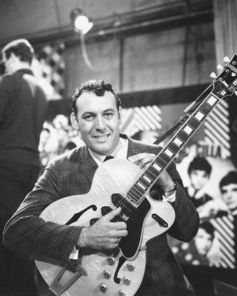 "Carl Perkins, ""Blue Suede Shoes"" 1955."