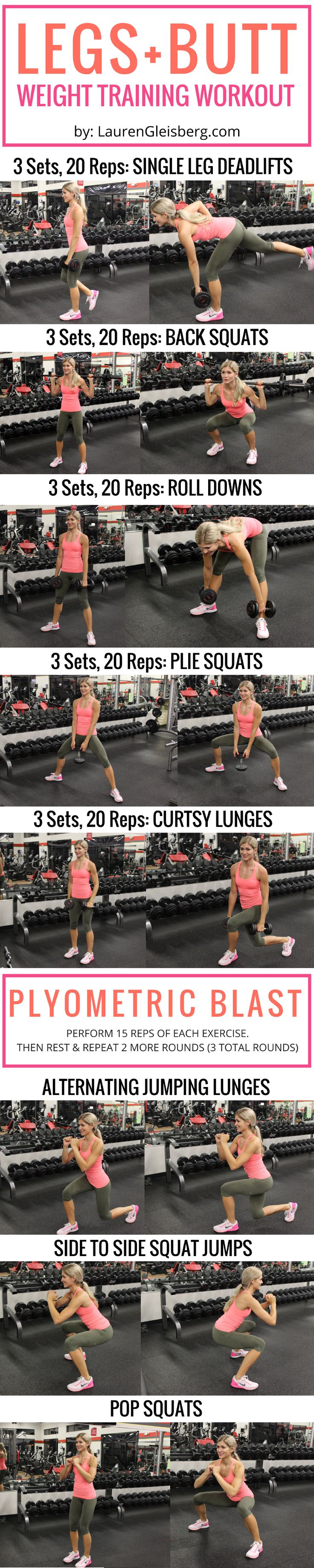 LEGS + PLYOMETRIC WORKOUT