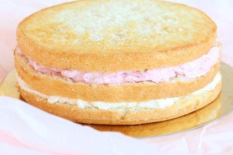Glasskräm som tårtfyllning | Bakverk och Fikastunder