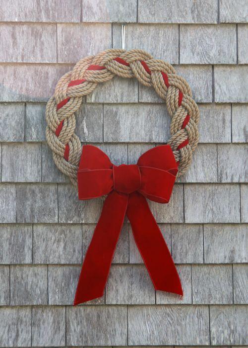 Coastal wreath, Made in New England :)