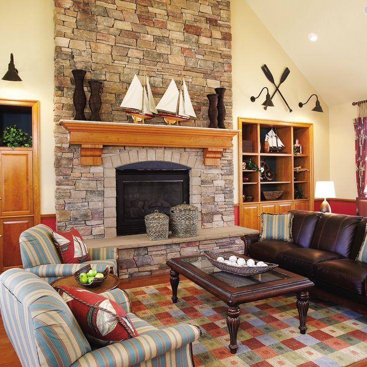 Country ledgestone fireplace ledgestone chardonnay fireplaces