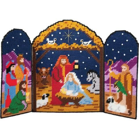 Herrschners® The First Christmas Plastic Canvas Kit