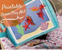 free ocean preschool playdough mats - Yahoo Image Search Results