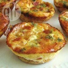 Foto recept: Makkelijke mini-quiches