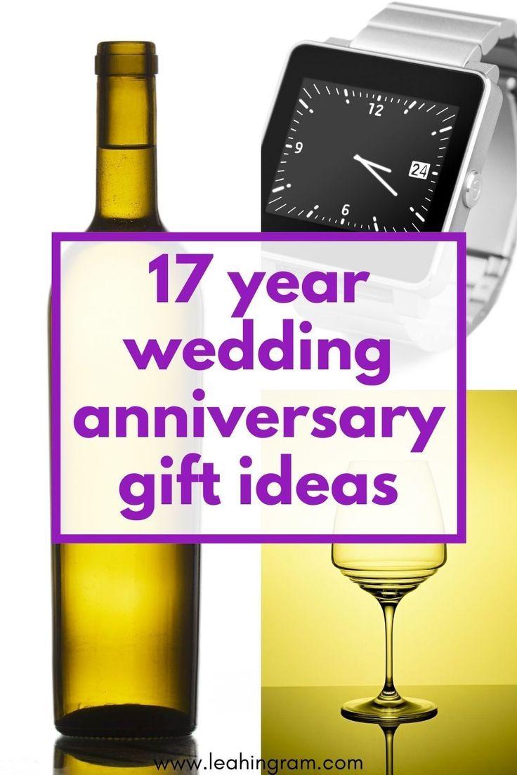 17th anniversary gifts in 2020 17th anniversary gifts