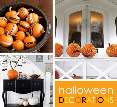 top 25 ideas about simple halloween decorations on pinterest spooky halloween decorations. Black Bedroom Furniture Sets. Home Design Ideas