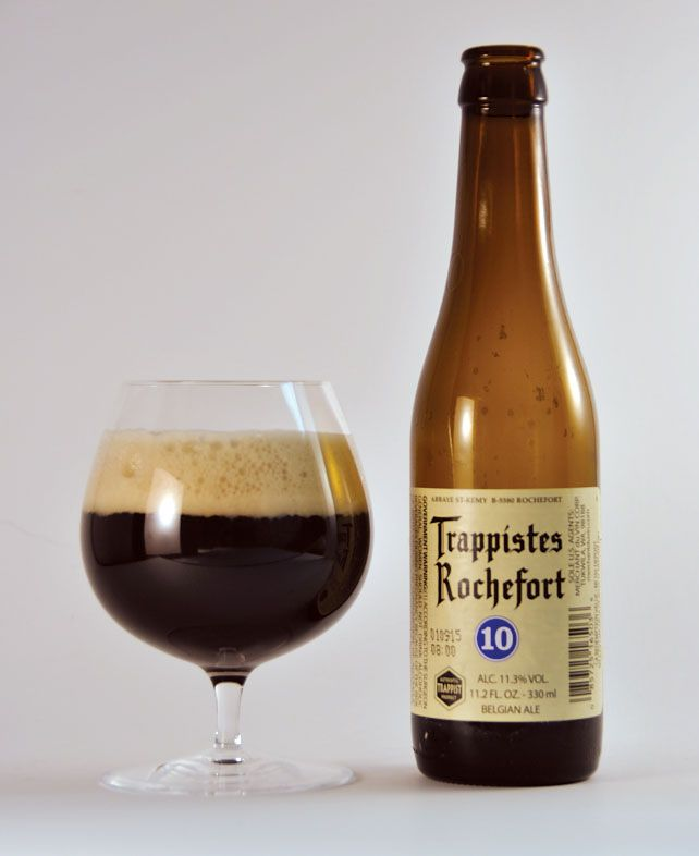 Trappistes Rochefort 10, Belgian beer, 11.3% ABV