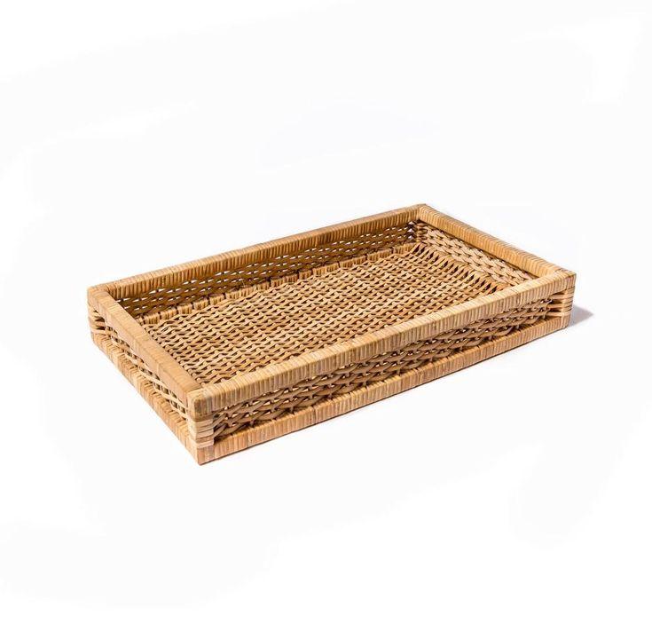 Sea Grass Flat Basket