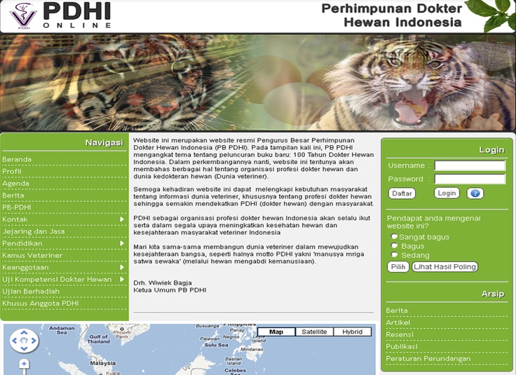 Website Of PDHI (Perhimpunan Dokter Hewan Indonesia)    http://agt.co.id