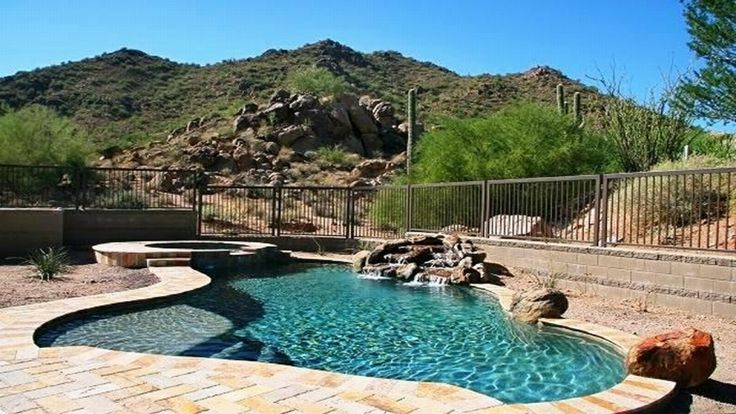 Dazzling hidden hills scottsdale small backyard pool ideas swimming pool pinterest pools for La fitness garden city park class schedule