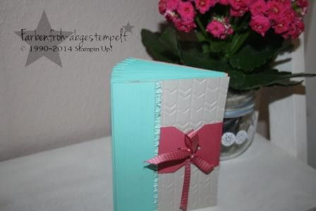 Mini Album/ Memory BOOK mit Stampin'UP!