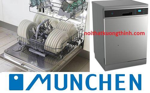 Máy rửa bát Munchen M15 đại diện ở phân khúc cao cấp http://beptumastercook.com/