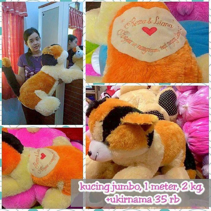 Boneka kucing jumbo 1 meter warna full cream/full orange harga polos 138 rb WA: 081327172699 / BBM:5D498C6A  #bonekamacan #bonekaharimau. #bonekamacanloreng #jualbonekamacan #jualbonekamacanloreng #bonekamacanmurah #jualboneka #tokoboneka #tokobonekaonline #bonekasinga #jualbonekasinga #bonekasingalucu #bonekasingamurah #bonekasingabesar #singa #macan #lucu #bonekakucing #bonekakucingmurah #bonekakucinglucu #bonekakucingjumbo #boneka #jualboneka #cariboneka #kadoboneka #bonekabesar