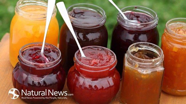 sugar free jam (sweeten with stevia)