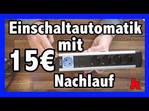 15€ Einschaltautomatik mit Nachlauf für z.B deine Bosch PTS 10 Absaugung ! - YouTube