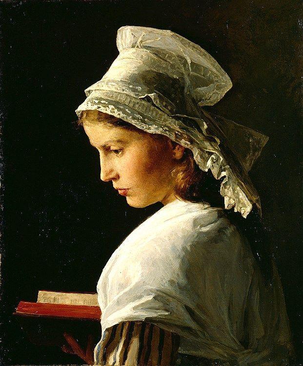Albert Anker (1831 – 1910) – Pintor Suíço_28: