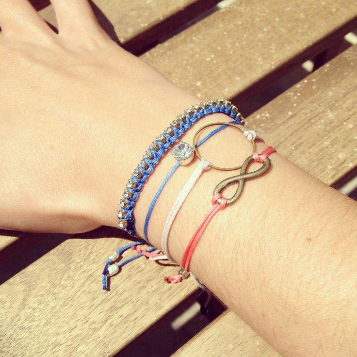Fabrika.house of art summer bracelets!