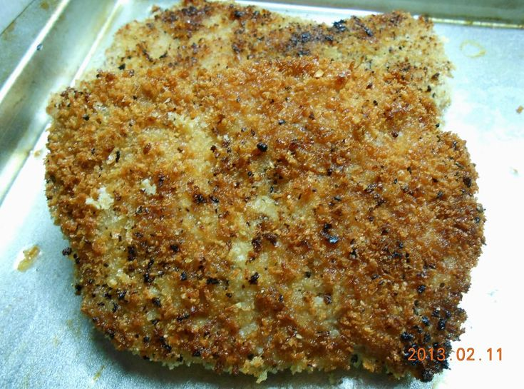 Panko crusted Pork Cube Steak Recipe
