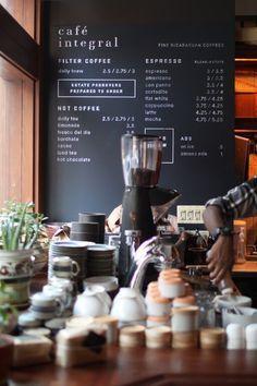 Binks Cafe Menu