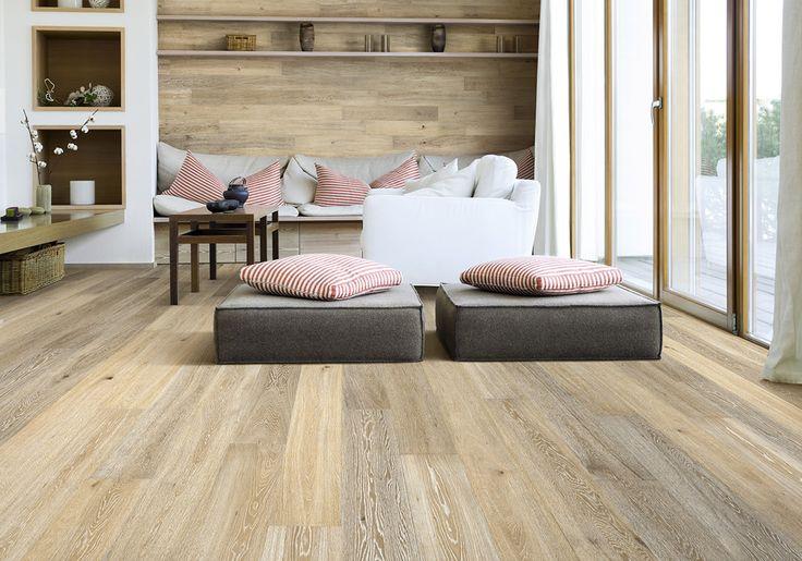 Tongue n Groove Timber Flooring - Sepia