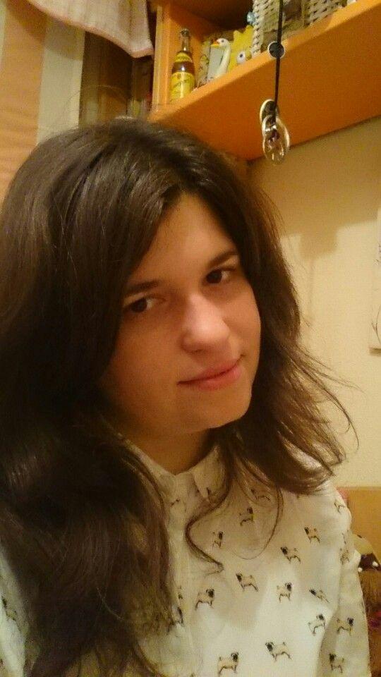 In this photo with pugs shirt by @danilokito jejeje  #shirt #photo #posing #elegant #beautiful #love  #carlinos #pugs #trevor #like #adorable #cute #fantastic #brunette #daniel #dani #lokito #miriam #me #mim #miry #miri #mimi #woman #mujer #chica #girl #femenino #femenina #female #present #today #pinterest #kiss #abril #april #2016 #regalo #present