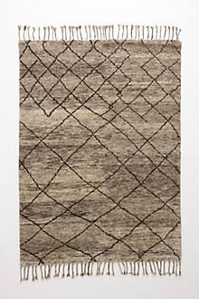 Hand-Knotted Adras Rug
