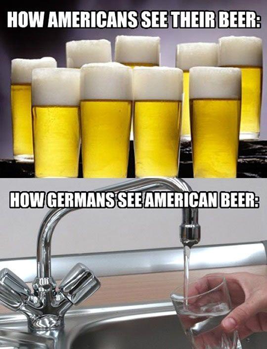 Bier = Wasser
