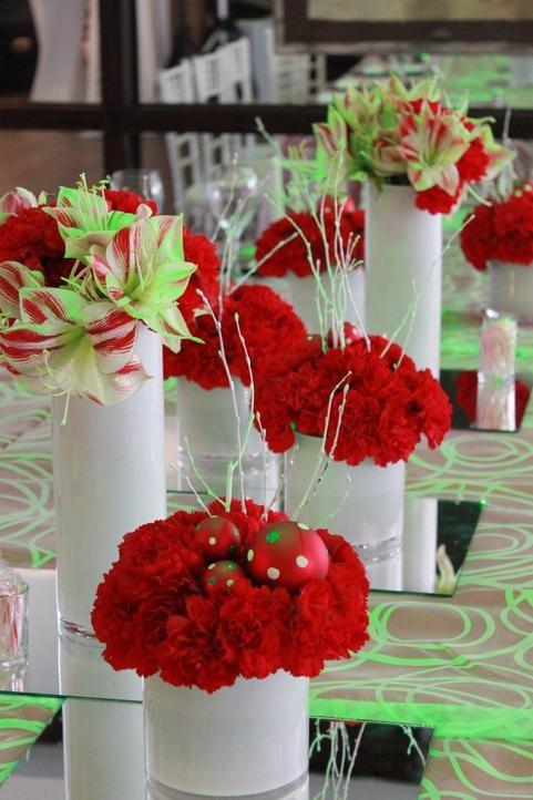 #EasyNip#centro de mesa#amarilis y claveles#flower arrangement#florenzza