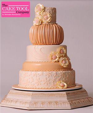 Dreamy Wedding Cake Tutorial
