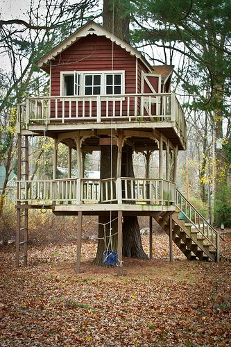 Treehouse in New Buffalo, Michigan ~ok, gonna start building this weekend!~