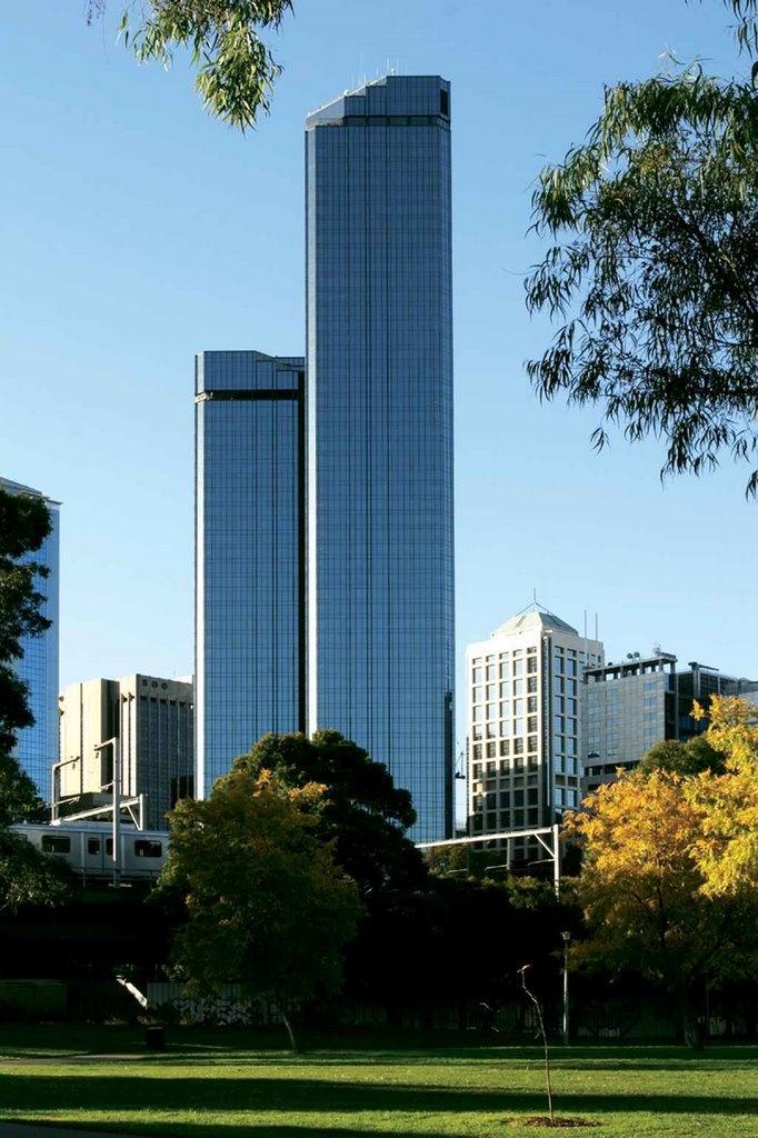 Rialto Towers, Melbourne, Australia.