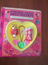 Vintage King and Queen Of Hearts Storybook Liddle Kiddles Sweethearts