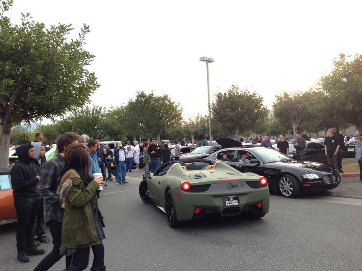 matte army green ferrari 458 spider ferrari 458 italia pinterest ferrari 458 ferrari and green - Ferrari 458 Spider Green