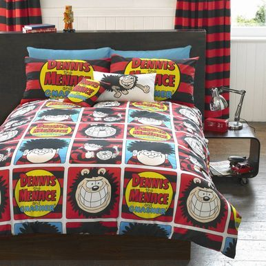 The Beano Squares bed linen
