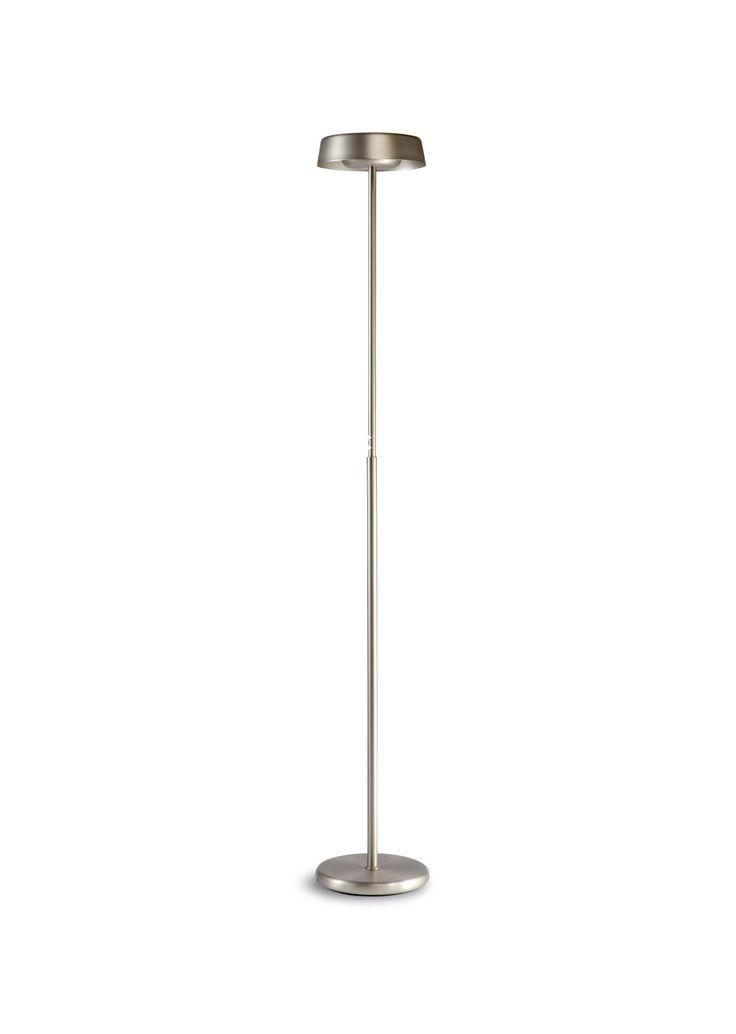 Lámpara de pie níquel NOA - La Casa de la Lámpara