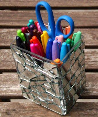 M s de 25 ideas incre bles sobre organizador de bol grafos - Hacer boligrafos en casa ...