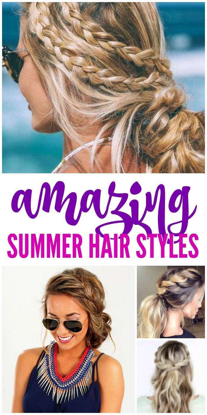 Amazing Summer Hair Styles And Trends For Women Summer Hairstyles Hair Styles Long Hair Styles