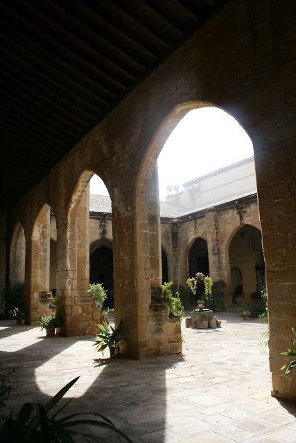 salir por el bello patio árabe que fue ,el patio de las abluciones de la primitiva mezquita musulmana