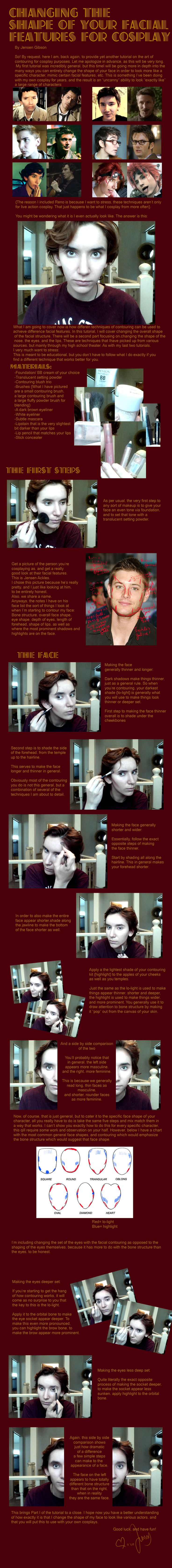 Changing the shape of your facial features, pt 1 by Sock-Monkey-Renegade.deviantart.com on @deviantART