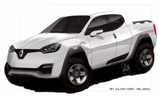 New pickup - Renault