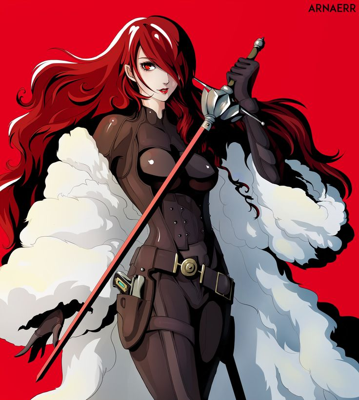 Persona 3 Mitsuru Kirijo